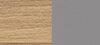 solid oak / slate grey